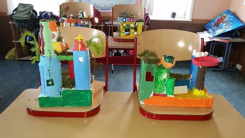 Hundertwasser im Kunstunterricht