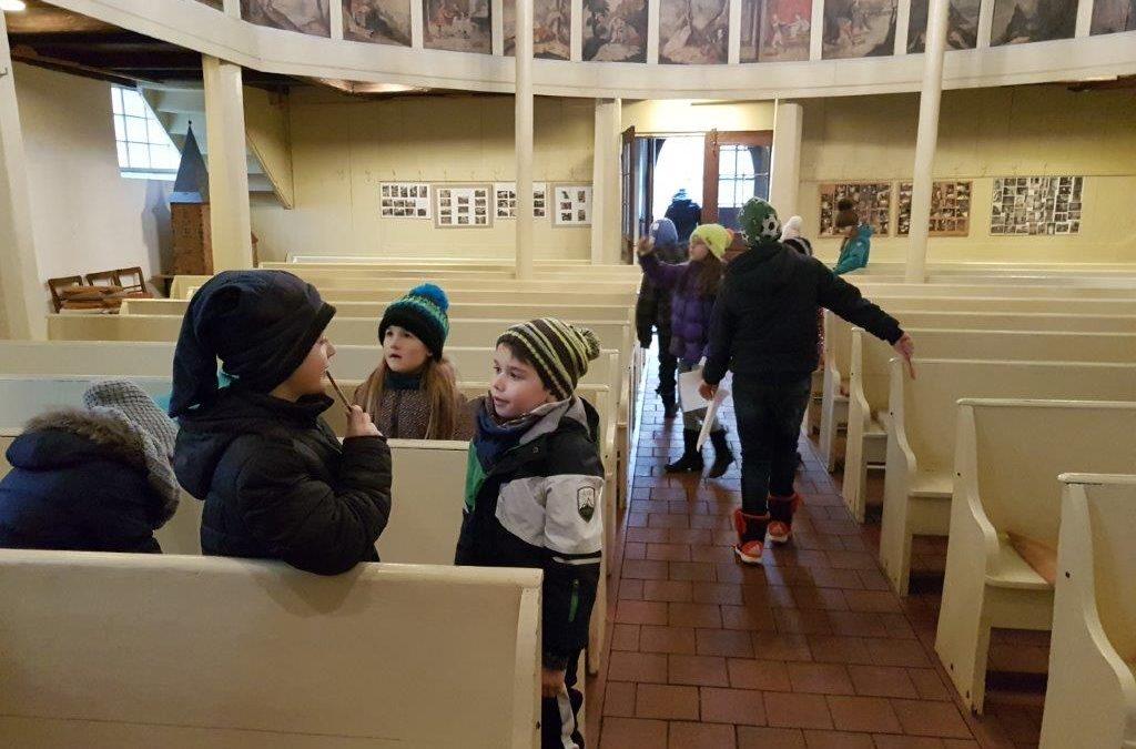 Besuch in der Kirche