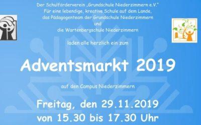 Einladung zum diesjährigen Adventsmarkt
